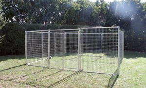 4.5m X 4.5m Pet Enclosure with Gate